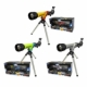 100 Power HD Telescope with Diagonal Mirror and Tripod