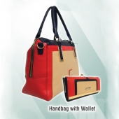 Handbag with Wallet
