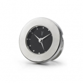 Alarm Clock with Black Dial Face and Crystal