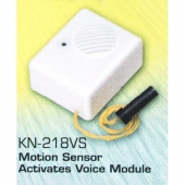 Motion Sensor Activates Voice Module