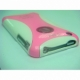 Plastic iPhone 3 cover in white / Pink color