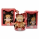 Valentine Glass & Plush Set