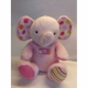 10 inch Musical Elephant Pink